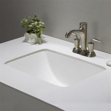 Small White Undermount Bathroom Sink by Ceramic Sink Kraususa