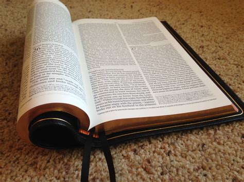 Esv Omega Thinline Reference Bible- Wow!