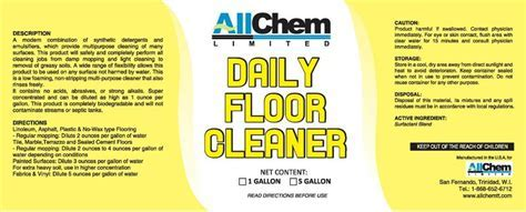 Floor Care   AllChem Limited