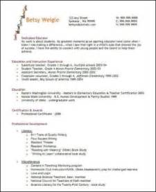 elementary education resume exle great results from your resume classroom caboodle