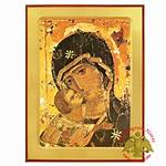 Nioras Vladimir Wooden Icon Byzantine 80usd Themes