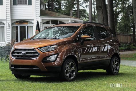 First Look 2018 Ford Ecosport Doubleclutchca