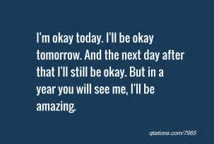 I Will Be OK Quotes
