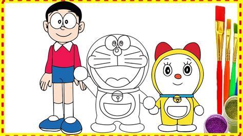 draw doraemon nobita  dorami family  doremon