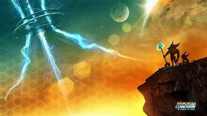 Ratchet Clank Crack Wallpapers Deadlocked Galaxy Sfondo