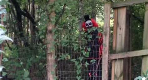 creepy clown posts chilling video message  local kids