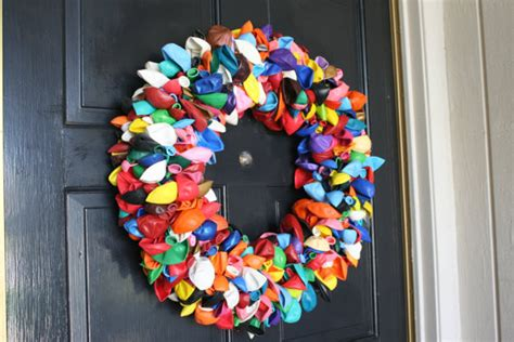 Balloon Wreath By Dahoney Designs  Eclectic  Wreaths And