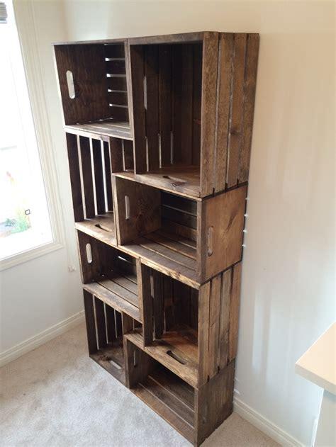 Crate Shelves: 25 DIYs   Guide Patterns