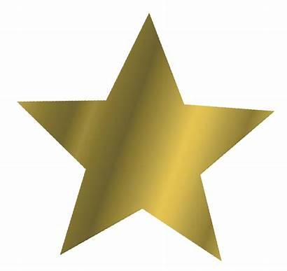 Star Gold Clipart Clip Cliparts Stars Yildiz