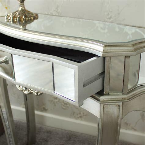 console chambre a coucher miroir demi lune console table décoration display vénitien