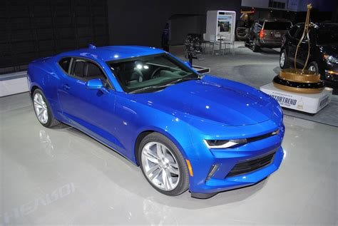 2016 Rs Camaro detroit 2016 chevrolet camaro ss and rs gtspirit