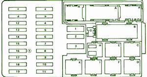 Fuse Box Diagram Mercedes Benz 420 Sel 1990