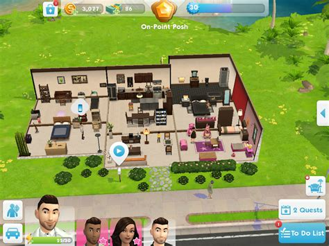 sims mobile share  house blueprints answer hq