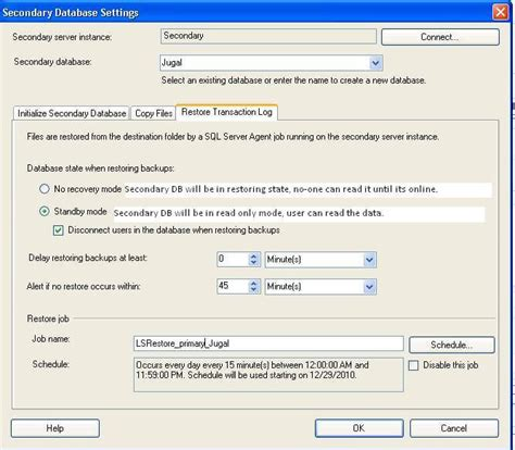 Sql Server Resume Log Shipping by Step By Step Sql Server Log Shipping