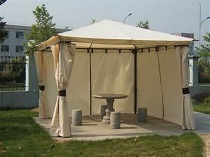 Holz Pavillon 3x3 : gartenpavillon pavillon metall gartenpavillion 3x3 meter venezia wasserdicht ebay ~ Whattoseeinmadrid.com Haus und Dekorationen