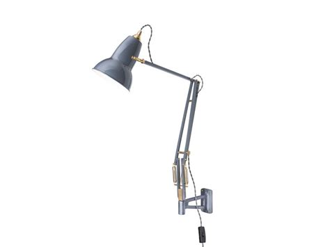 anglepoise brass original 1227 mounted wall l