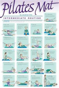 Healthy Diet Routine Chart Pilates Mat Workout Intermediate Professional Fitness