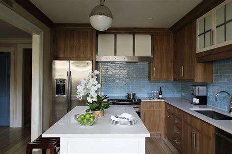 kitchen tile ideas blue and brown kitchen design ideas 3260