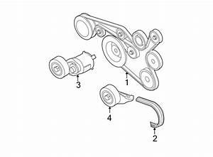 2011 Volkswagen Jetta Accessory Drive Belt  Liter  Ribbed  Convertible - 07k145933g