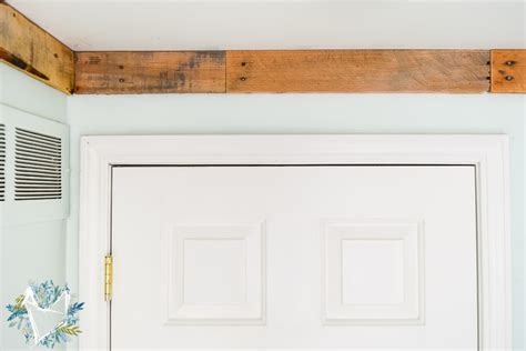 nature inspired bedroom pallet molding  weathered fox