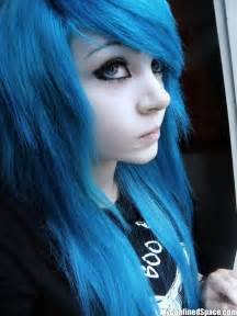 anime hair accessories lifestyle blue hair