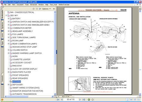 auto body repair training 1995 mitsubishi pajero lane departure warning mitsubishi pajero workshop manual