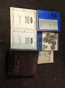 service and repair manuals 1988 ford bronco ii security system 1988 ford ranger bronco ii service shop repair manual set w evtm emissions ebay