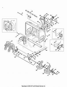 Troy Bilt 31as62n2711 Storm 2410  2014  Parts Diagram For
