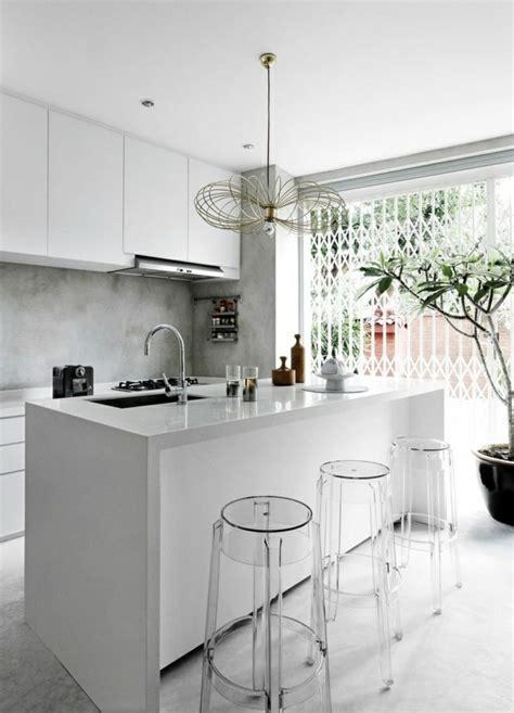 comptoir de cuisine blanc 90 idées pour des comptoirs de cuisine design à ne pas manquer