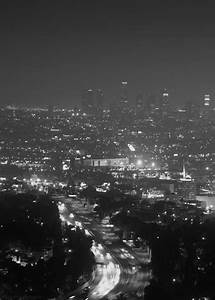 black and white city gif | Tumblr
