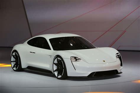Mission E by Porsche Mission E Concept Ev Arrives In Frankfurt With 600 Hp