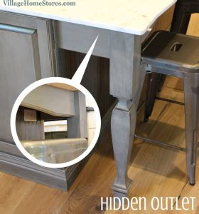 Kitchen Appliance Outlet Store Uk by A Valance Beneath The Overhang Of This Kitchen Island