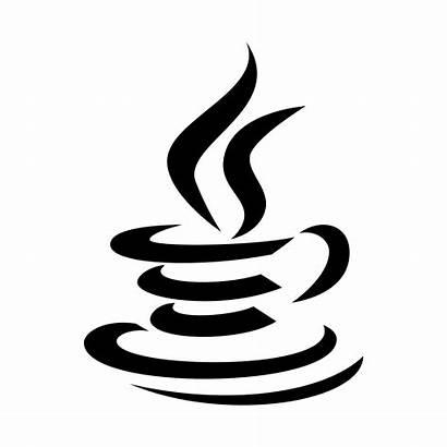 Icon Java Coffee Cup Logos Steam Shape