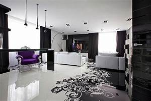 Einrichtungsideen Jugendzimmer Jungen : project begovaya stunningly stylish interiors in striking black and white ~ Sanjose-hotels-ca.com Haus und Dekorationen