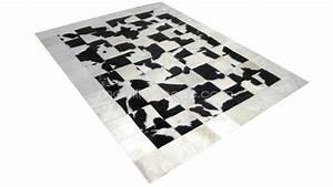 tapis peau de vache rectangulaire krista acheter un With tapis peau de vache avec carrefour canape angle