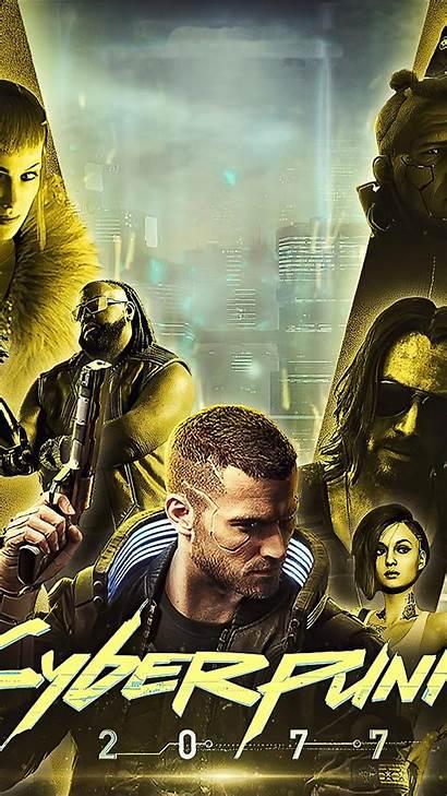 Cyberpunk 2077 Gold 4k Mobile Ultra Wallpapers