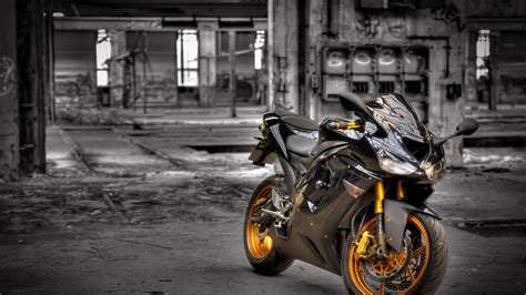 Full Hd Wallpaper Kawasaki Motorcycle Black And White
