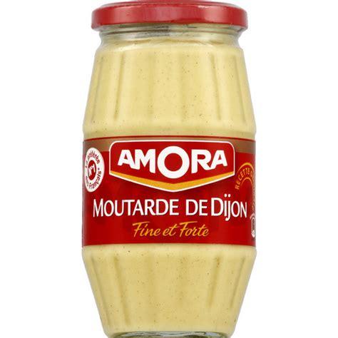 dijon cuisine amora moutarde de dijon et forte monoprix fr