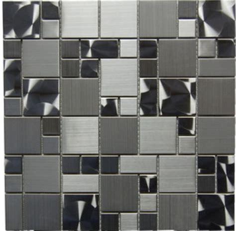 Stainless Steel 12x12 Magic Pattern Mosaic - Backsplash ...