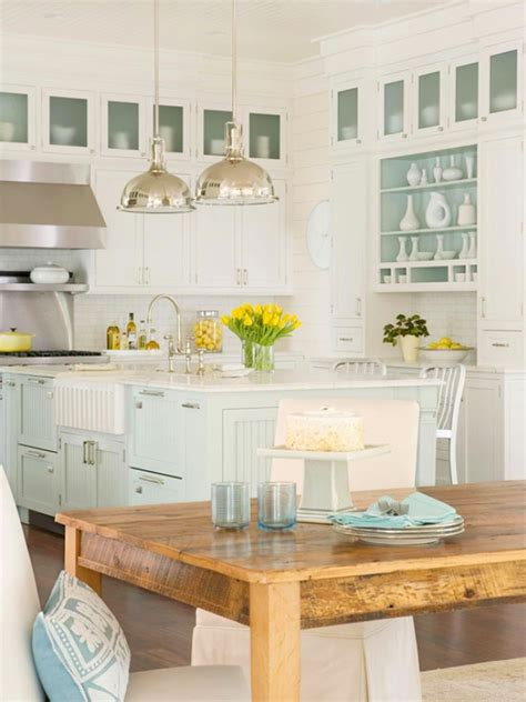 Coastal Style Kitchen  Interior Design Home