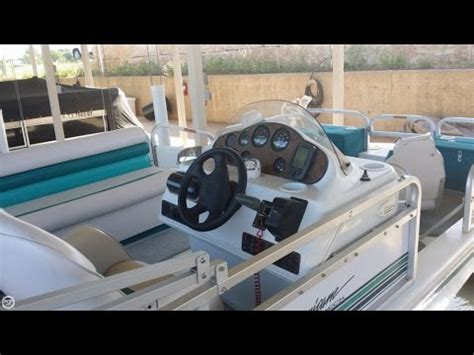 1993 Godfrey Hurricane Deck Boat by Unavailable Used 1998 Hurricane 196r Fundeck In