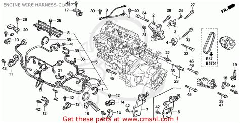 1989 Honda Accord Engine Diagram by Honda Accord Wagon 1991 Wgn Lx Ka Kl Engine Wire Harness