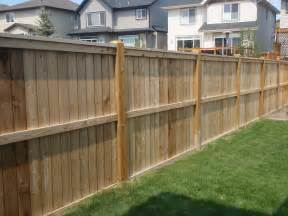 Wood Backyard Fence Ideas
