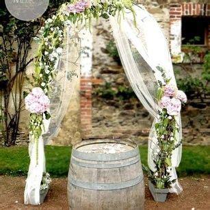 arche de ceremonie mariage decoration ceremonie laique