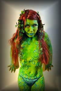 Poison Ivy Body Paint