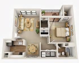 2 bedroom house floor plans departamentos pequeños planos y diseño en 3d construye