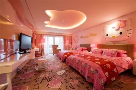 hello rooms for 20 cute hello kitty bedroom ideas ultimate home ideas