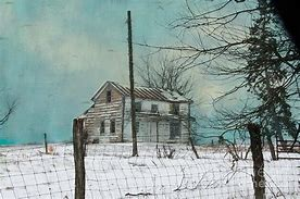 Image result for Lonely Abandoned House