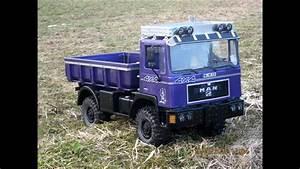 Lkw Modell 1 10 : rc truck 1 10 erste testfahrt mit 4x4 man f90 im ~ Kayakingforconservation.com Haus und Dekorationen