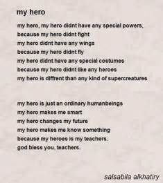 essay about a hero